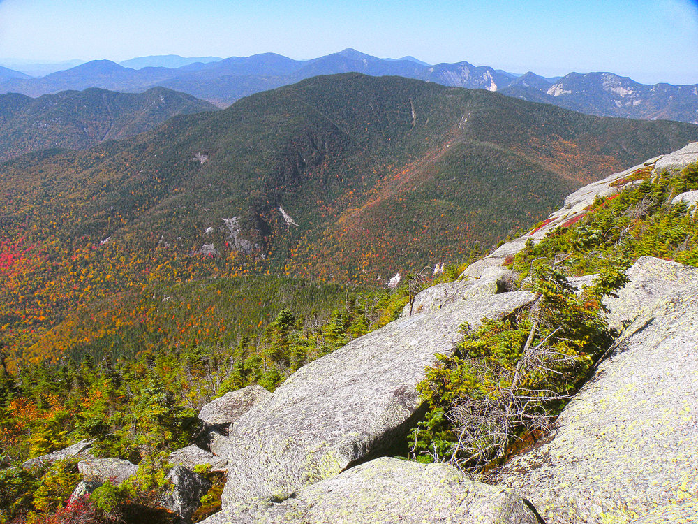 There are Expansive views All along the ridgeline, like this View toward Mt Marcy.  Bill Ingersoll
