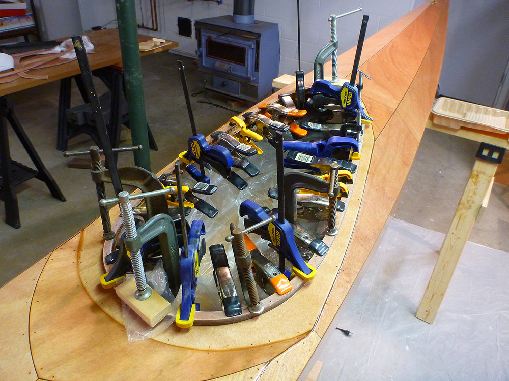 How many clamps do you need? One more... Alan Mapes