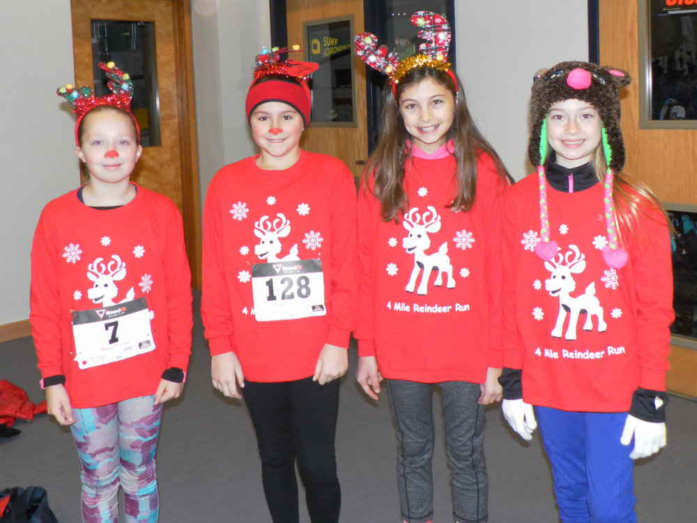 Reindeer Run 4-miler in Queensbury. Patricia Corwin