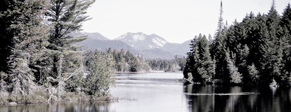 View to Gothics from Boreas Ponds dam. Rich Macha