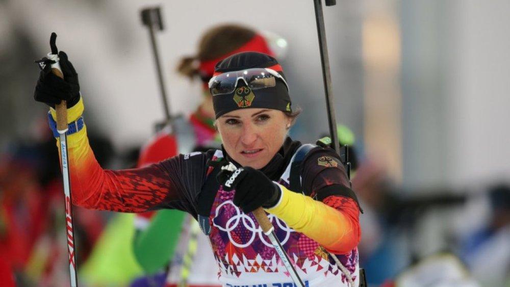 2014 Sochi Olympics.Kay Nietfeld