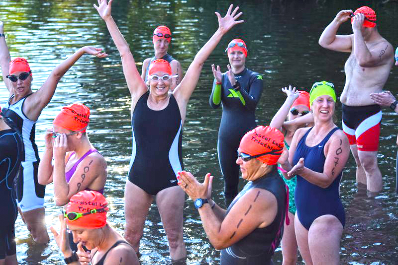 C'mon in, the water's   fine…   Open water   swimming season   will be here soon!  Neil Sergott/CDTC