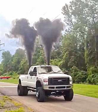 States are explicitly banning 'rolling coal' nuisance exhaust.
