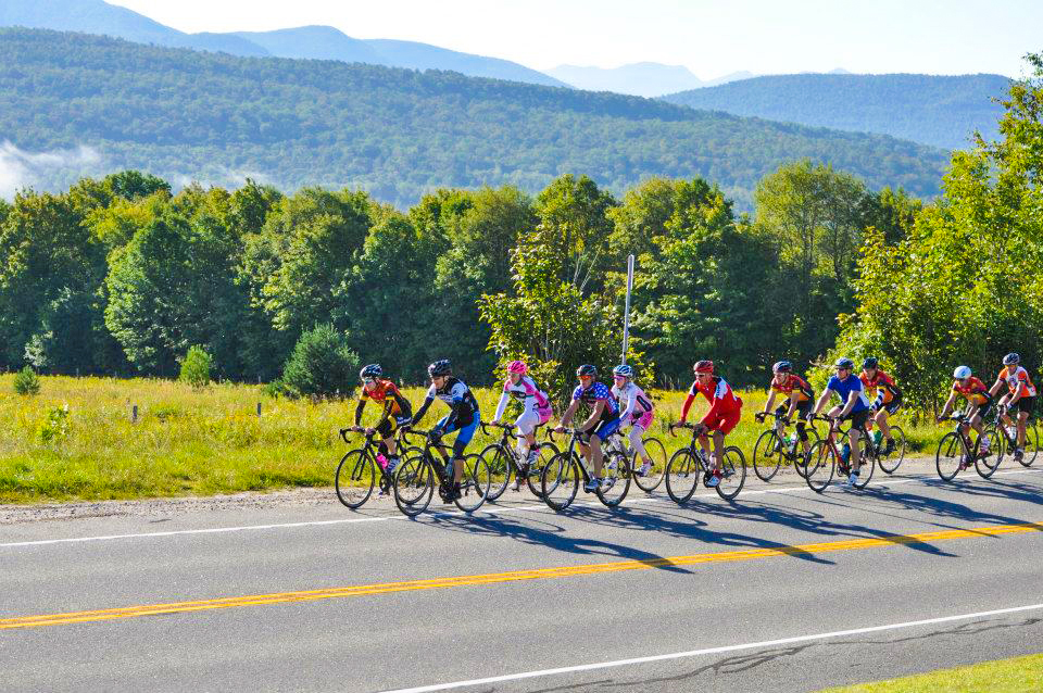 2016 Pat Stratton Memorial Bike through the Adirondacks.  Kiwanis Club of Saranac Lake