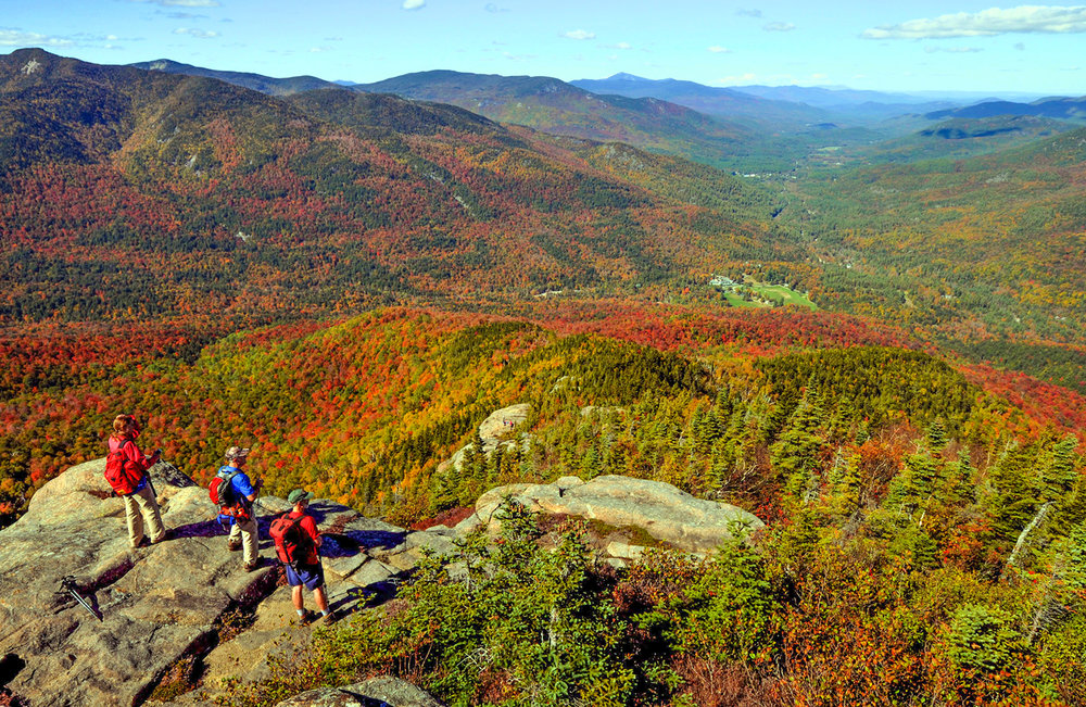 Noonmark Mountain, one of the 100-highest Adirondack peaks, has summit views as good as any in the High Peaks.  Dave Kraus/KrausGrafik.com