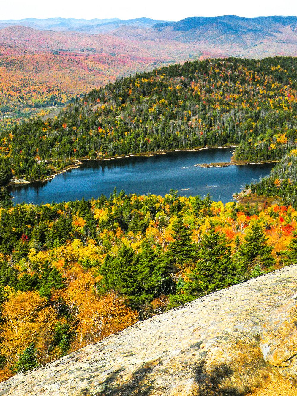 Crane Mountain Pond.   Bill Ingersoll