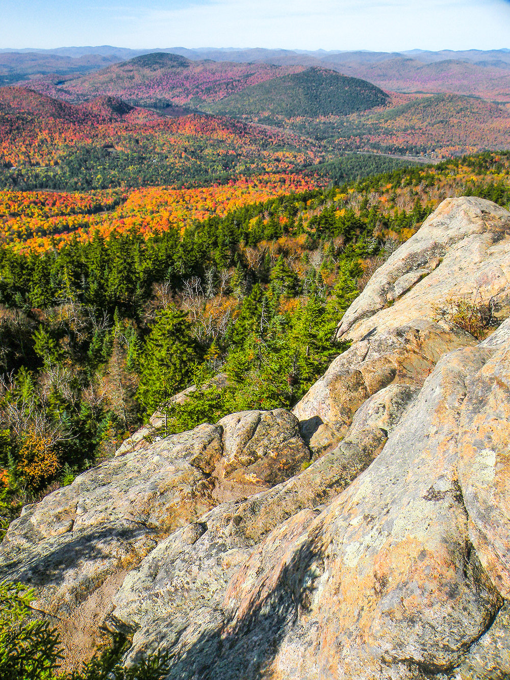 Crane Mountain view.   Bill Ingersoll