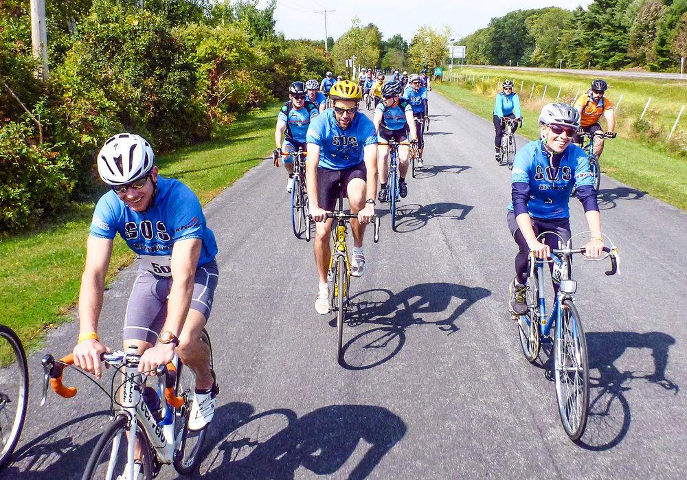 2014 Bike MS Tour. Dave Kraus/krausgrafik.com