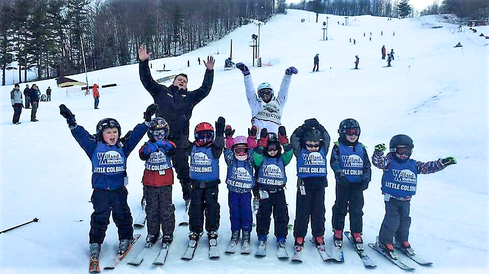 Willard's Little Colonel ski program is popular and fills up quickly.   Willard Mountain