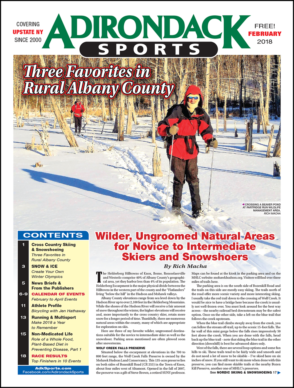 February 2018 - Read Articles / View PDF
