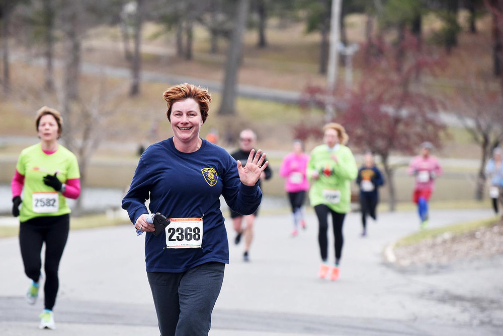 Run 4 Your Life 5K at Schenectady's Central Park in March 2016. Erica Miller/Daily Gazette