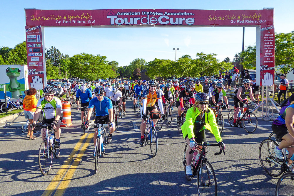 2017 ADA  Tour de cure  Capital Region.