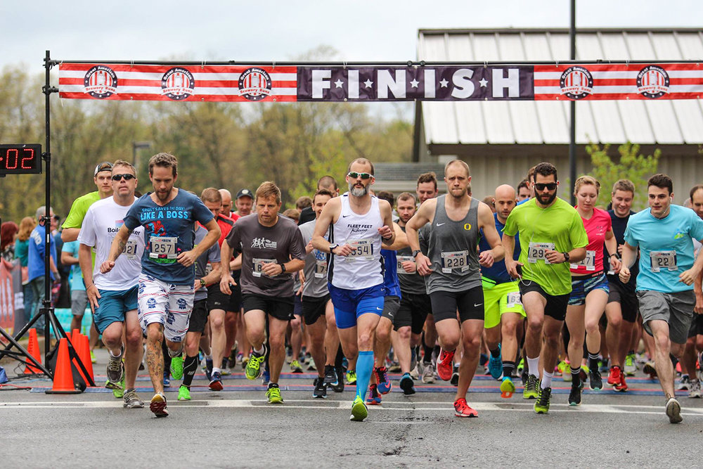 2017 Shmaltz Brewing Chosen Run 5K in Clifton Park.