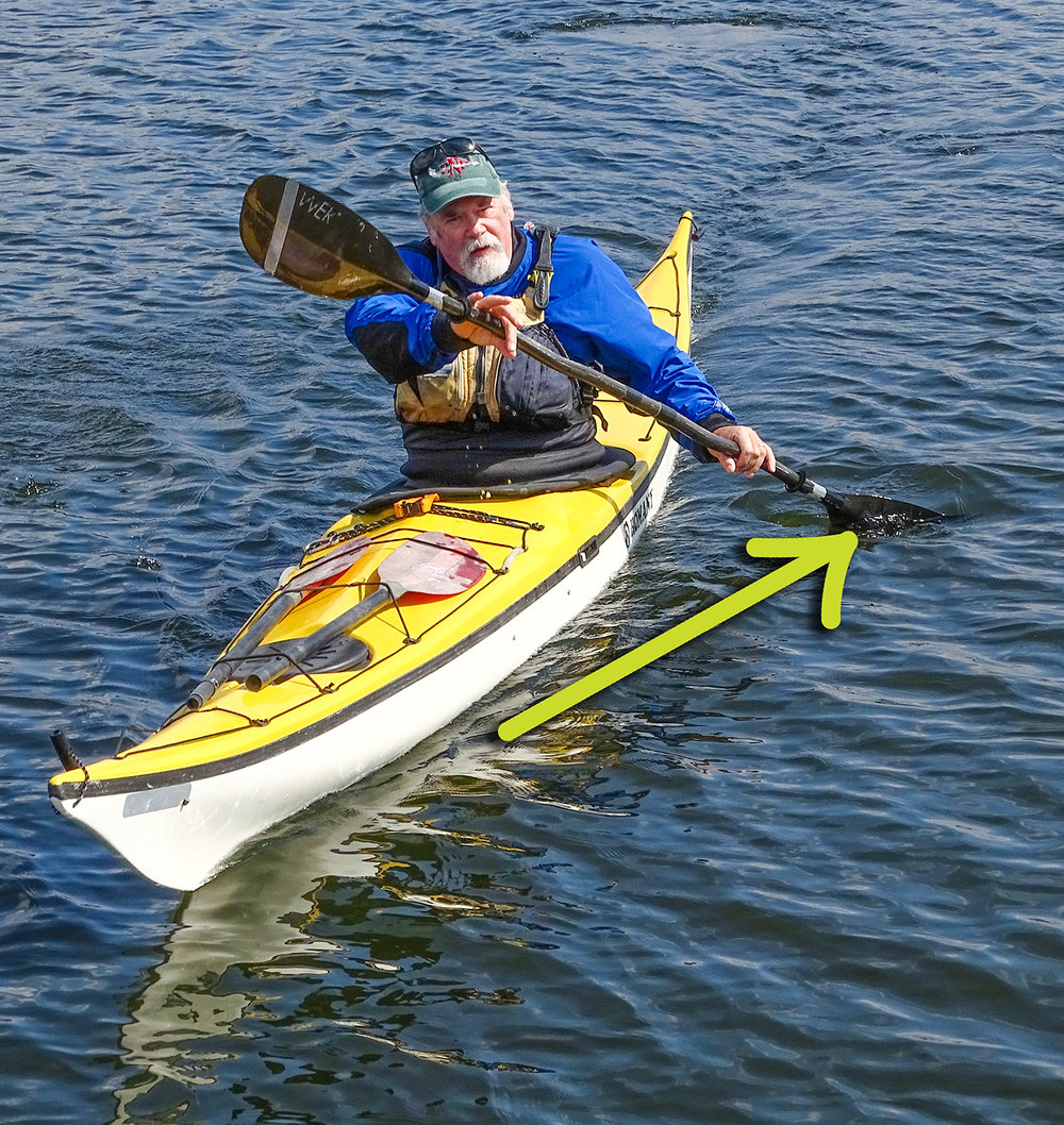 Forward Stroke - Paddler Mike Cavanaugh of Slingerlands,April 28, on Fish Creek in Saratoga Springs.