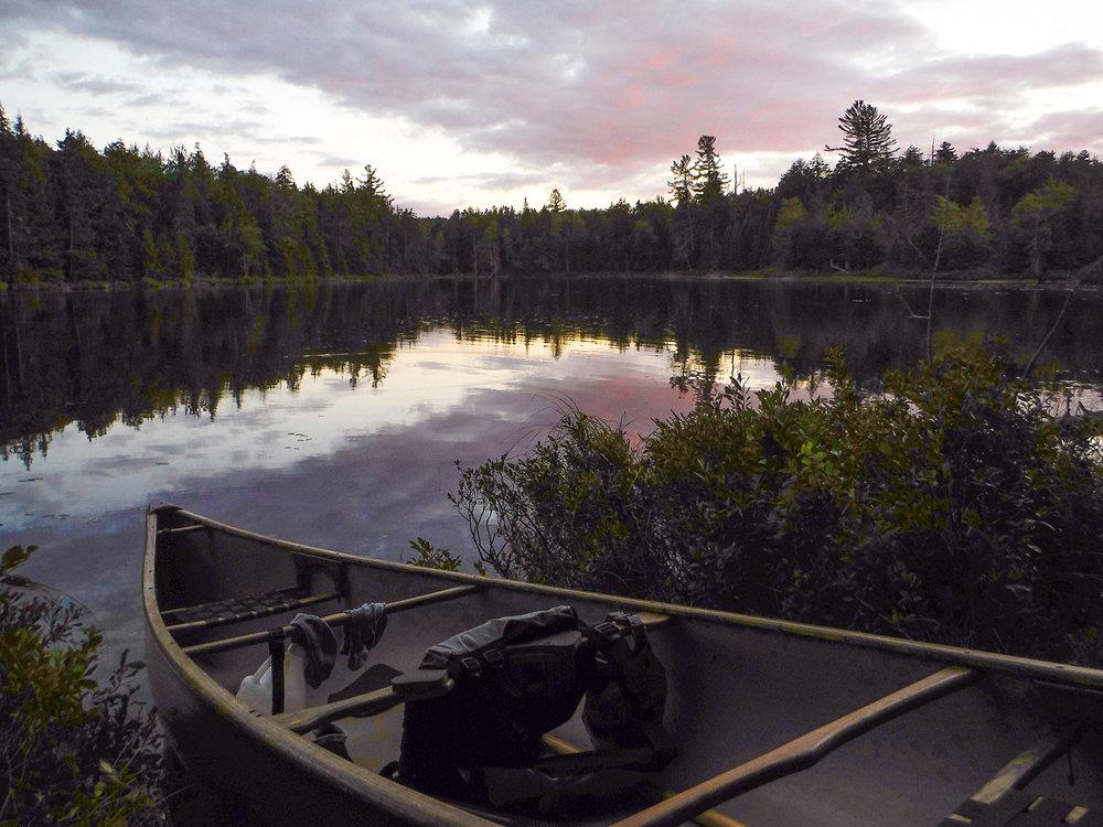 Dusk at Turtle Pond.   Rich Macha