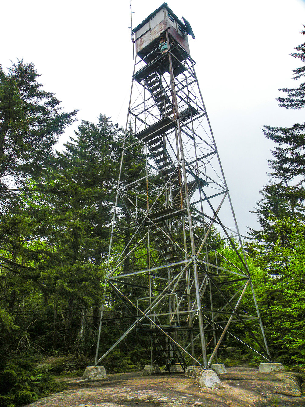 Woodhull Mountain Tower.   Bill Ingersoll