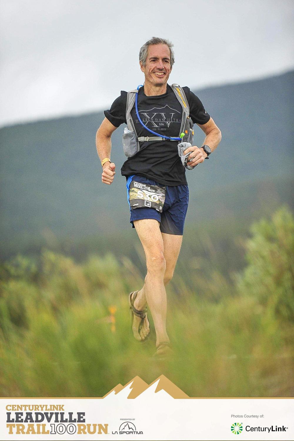 2018 Leadville Trail 100 Run.