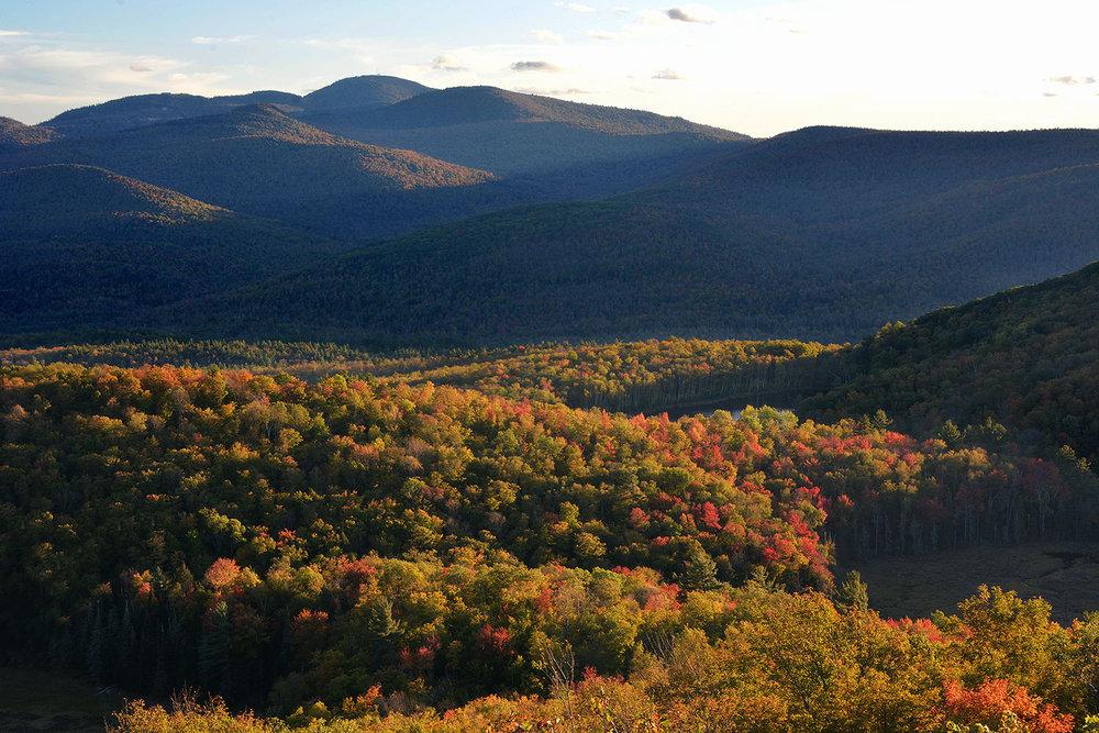 Gore Mountain from Moxham summit.  Dave Kraus/   krausgrafik.com