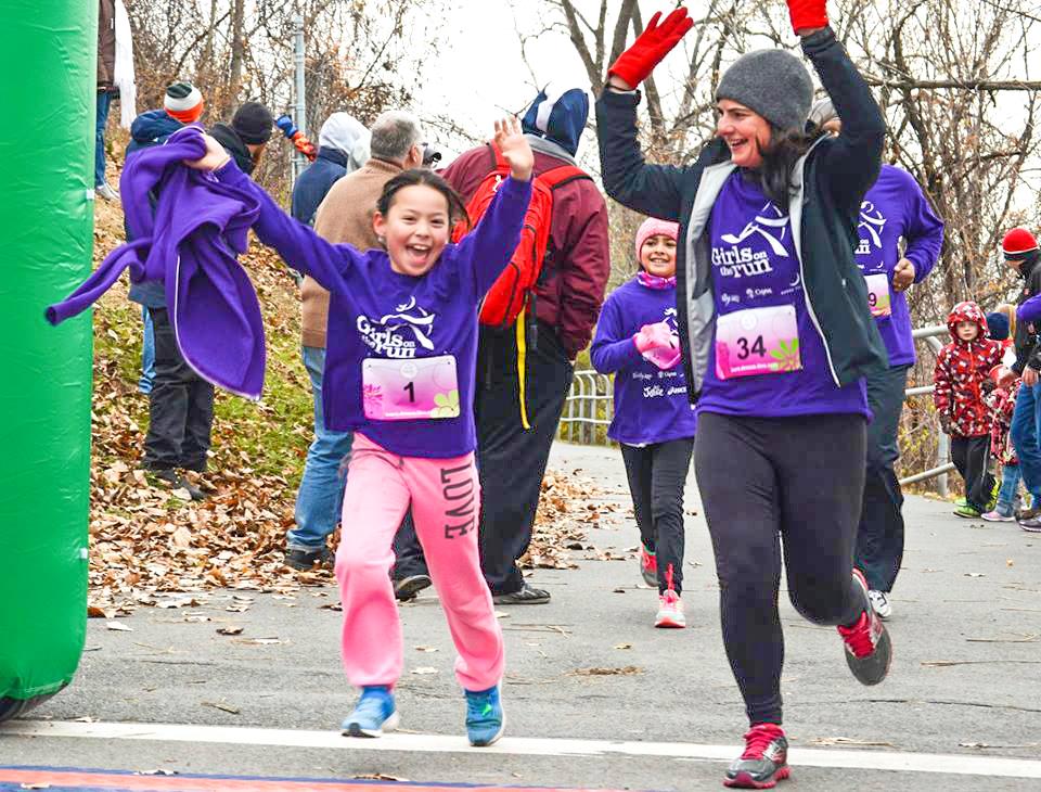 Joyful finish at 2017 Girls on the Run 5K.