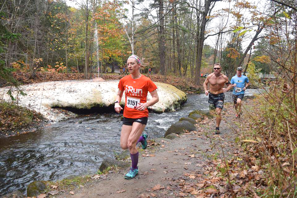 Island Spouter and Geyser Creek at the 2017 Fall Back 5.