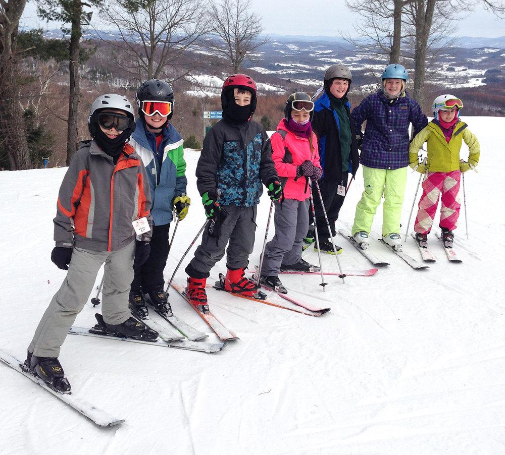 Greenwich skiers at Willard, 2015.