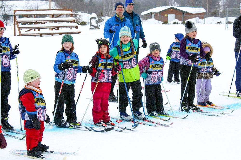 Greenfield's Bill Koch Ski League Hurtathon Racing and Games, 2018.   Chris Yarsevich