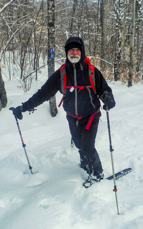 On the Raymond Brook Ski Trail.   Rich Macha