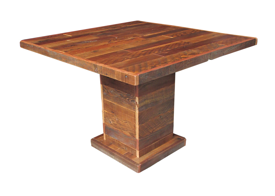 Buckshot Pedestal Table U2022 $995