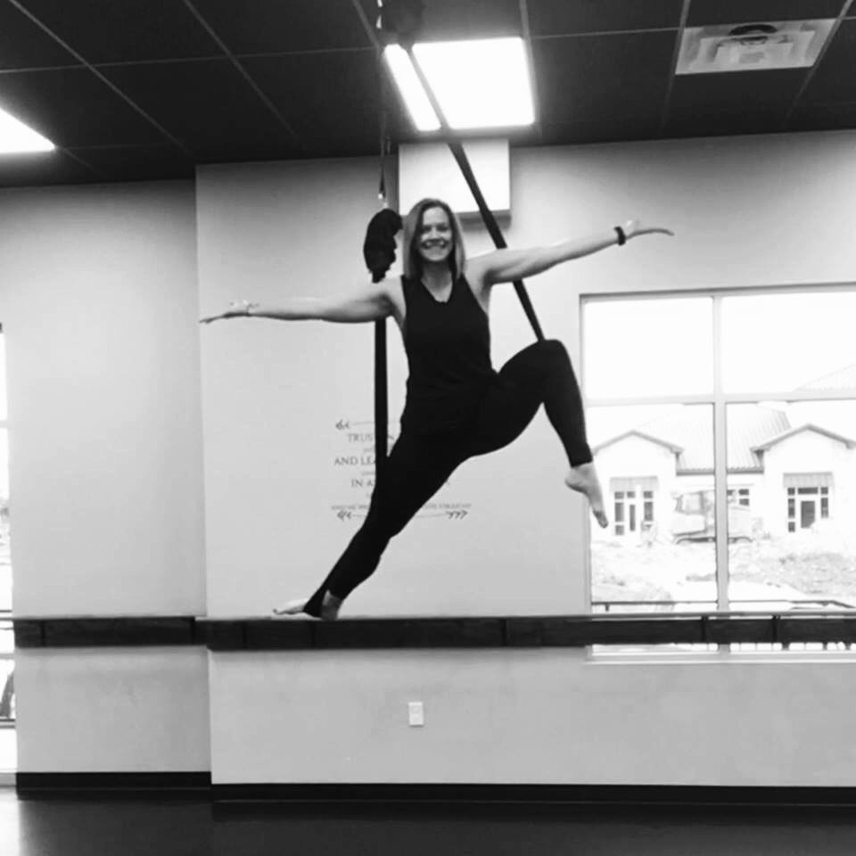 Ember - Ember is a certified aerial instructor, registered yoga instructor 200 RYT, has years of dance training, and will leave you feeling confident, inspired, and empowered!To schedule or inquire about a private class, workshop, or party with Ember please click the button below.