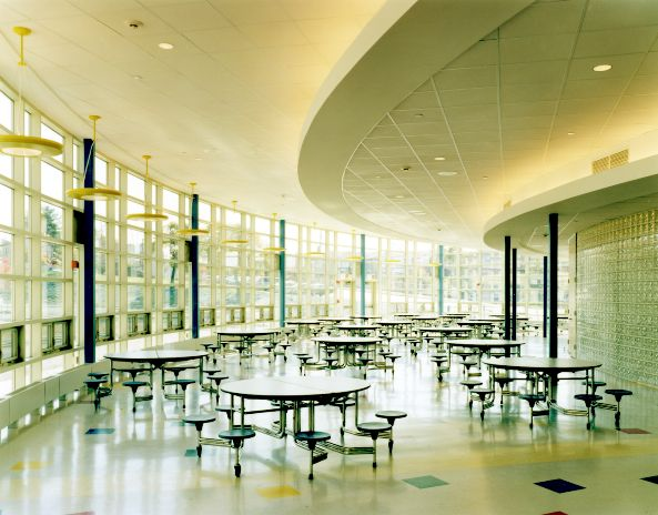 Middle School Cafeteria, or Art Gallery? — Illuminated Ideas