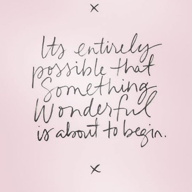 Just when you feel like you want to give up...there are blessings just around the corner 💗 #ewg #newbeginnings