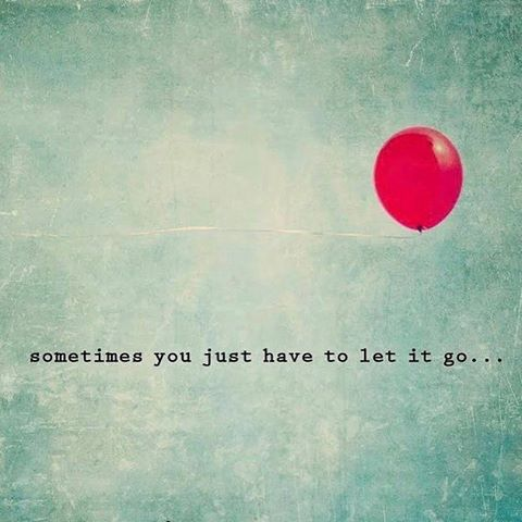 Some #mondaymotivation for you...letting go is sooooo hard, but once you do, your life will be changed forever. #ewg