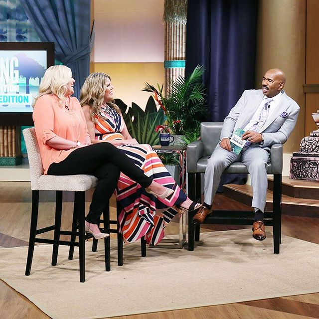 Excited to share the news...tune in Friday 5/19 for our guest appearance on the Steve Harvey show! Divorce does not define us...it's time to shine on! #steveharvey