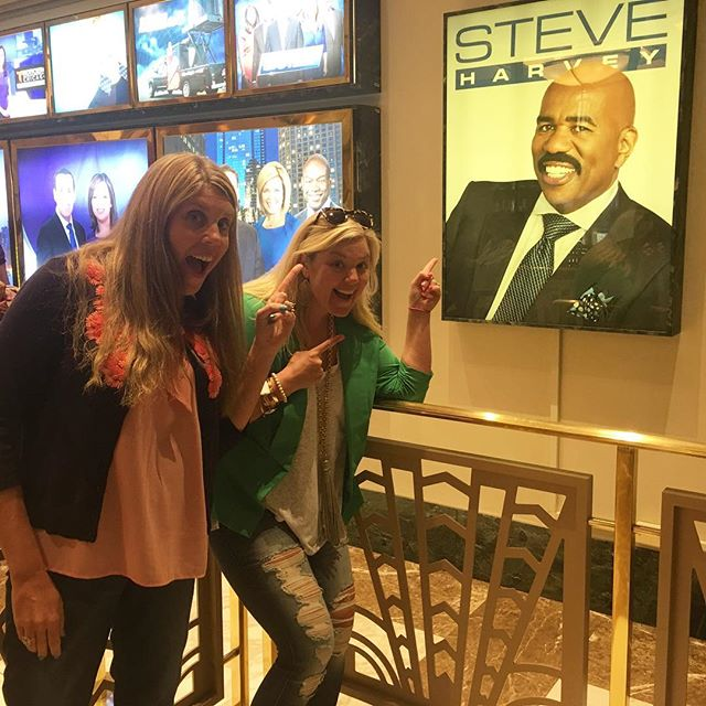 Oh YES we DID! Check us out on Steve Harvey TOMORROW 😜 #steveharvey #exwivesguide