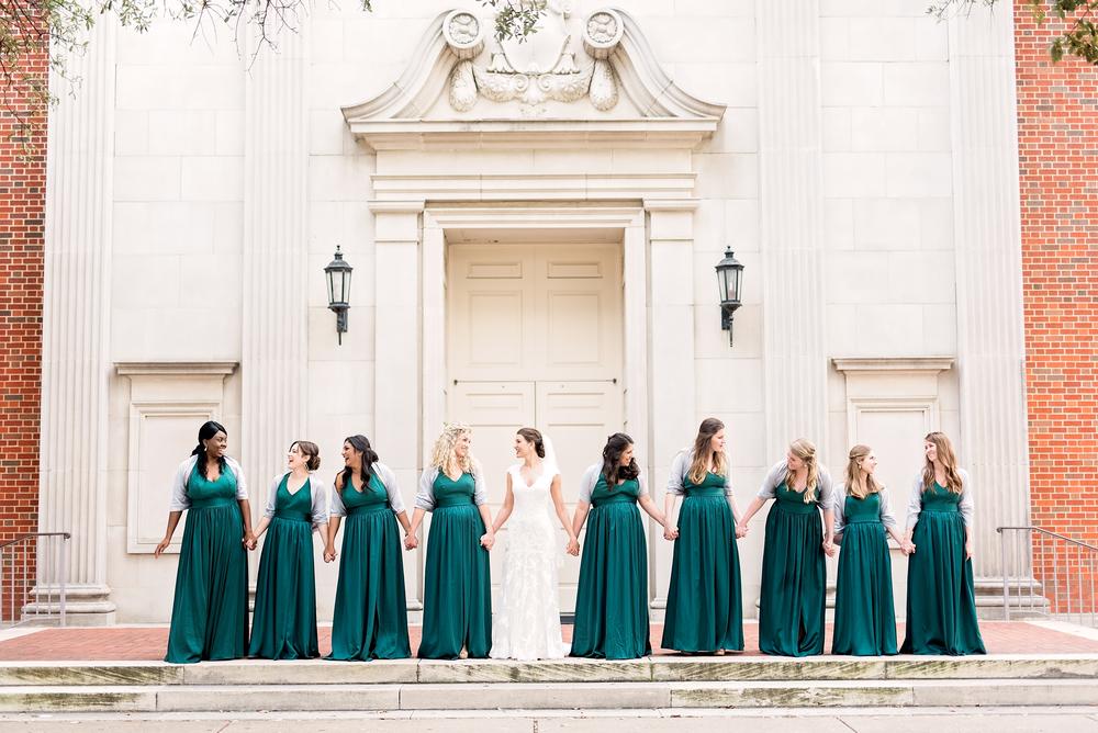 KC and Blair- Dallas Wedding- Texas Photographer- Pharris Photography- Bridesmaids- Bridesmaids Dresses