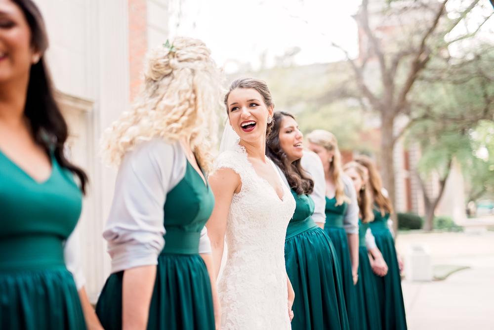 KC and Blair- Dallas Wedding- Texas Photographer- Pharris Photography- Bridesmaids- Bridal Party