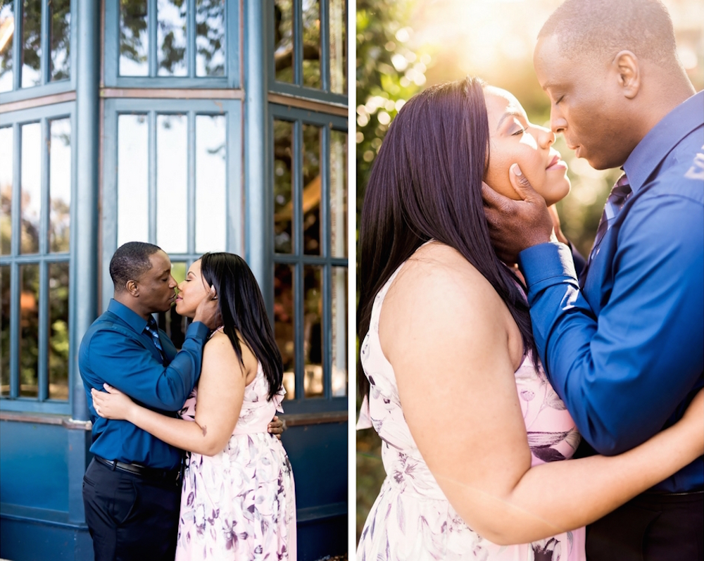 Brooke and Abiola Engagement Session