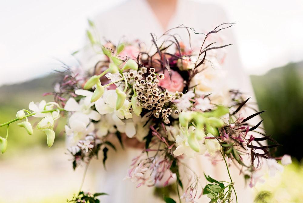 Vineyard- California Wedding- Pharris Photography- Texas Photographer- Rachel and Sergio- Wedding Bouquet