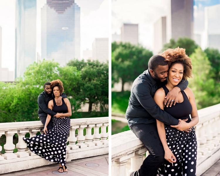 Engagement Session- Houston Engagement- Pharris Photography- Texas Photography- Sabine St. Bridge- Jessica and Brian