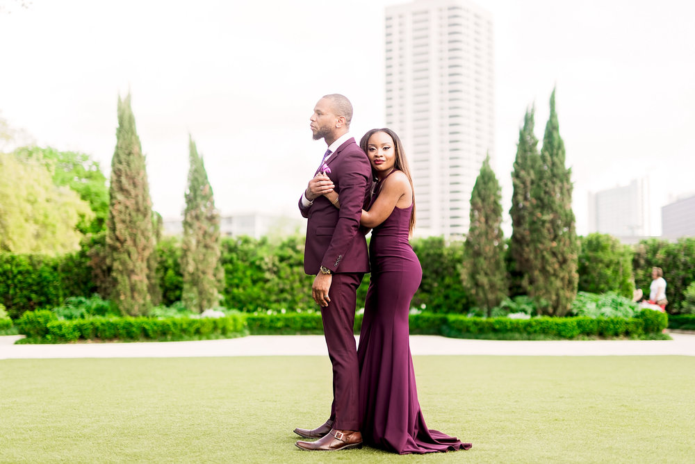 Engagement Session- Hermann Park- Houston Engagement- Texas Photography- Pharris Photography- Nkechi and Elyx