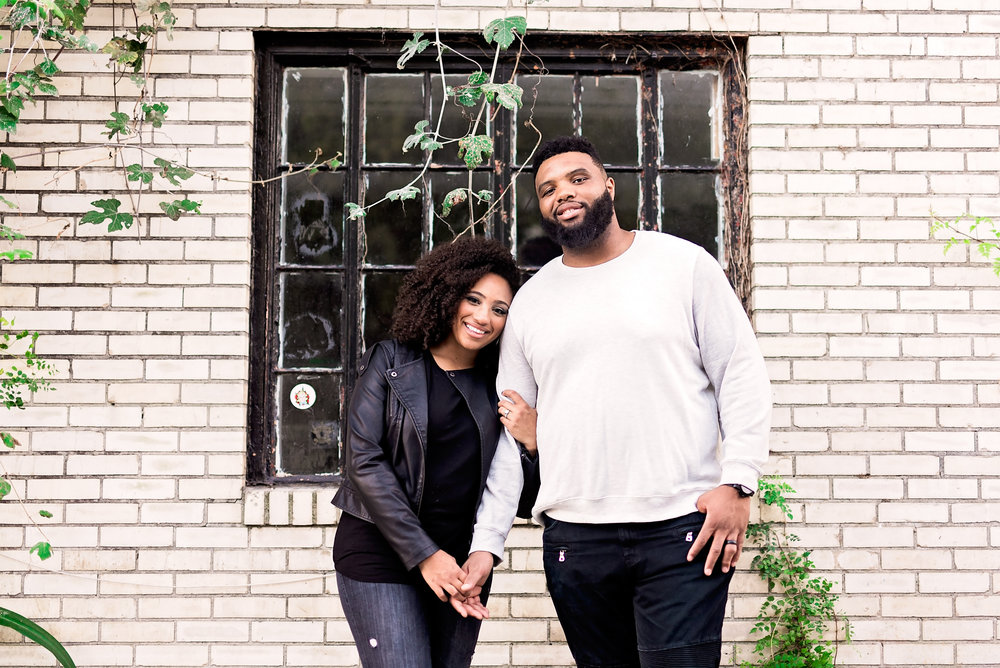 Warehouse District in Houston- Texas Photography- Pharris Photography- Family Session- Marissa and Jeff
