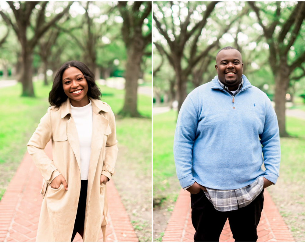 University of Houston- Pharris Photography- Evan and Meghan- Engagement Session