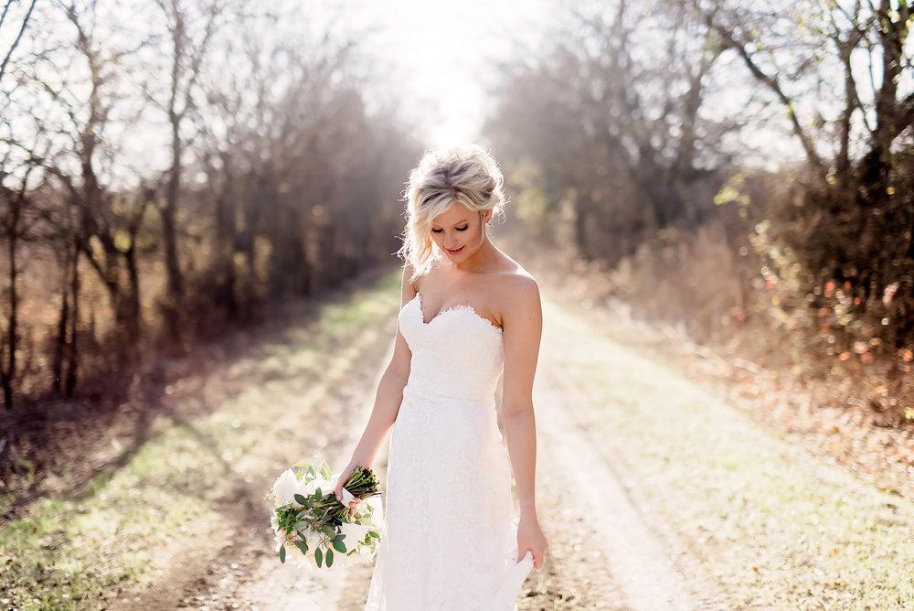 Bridal Session- Dallas Photography- Pharris Photography- Texas Photography- Kailee- Wedding Dress- Rustic- Strapless Wedding Dress