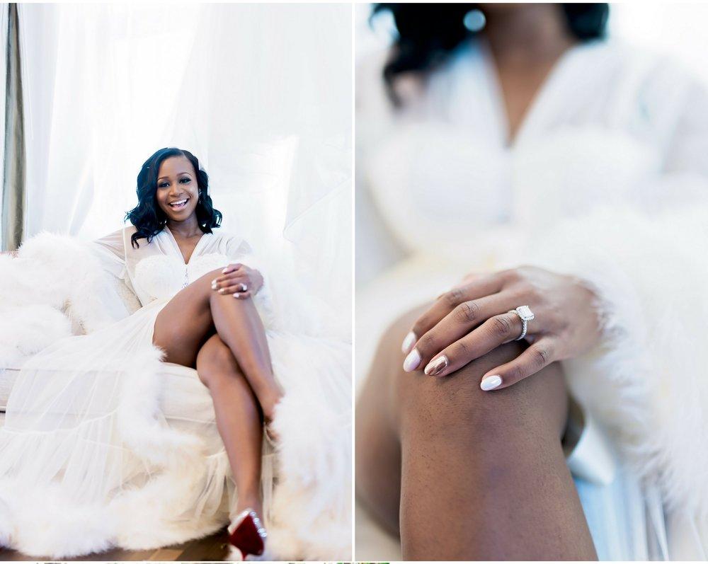 BalHarbour Windemere Mansion- Texas Wedding- Pharris Photography- Ashley and Reggie- Wedding Photography- Feather Robe