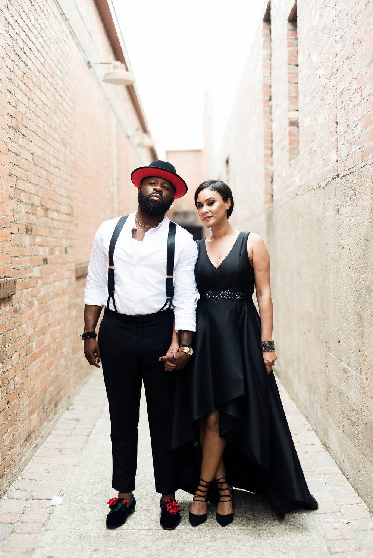 Pharris Photography- Engagement Session- Texa Photography- Dallas Engagement- Kerri and Bravion- NYLO Hotel