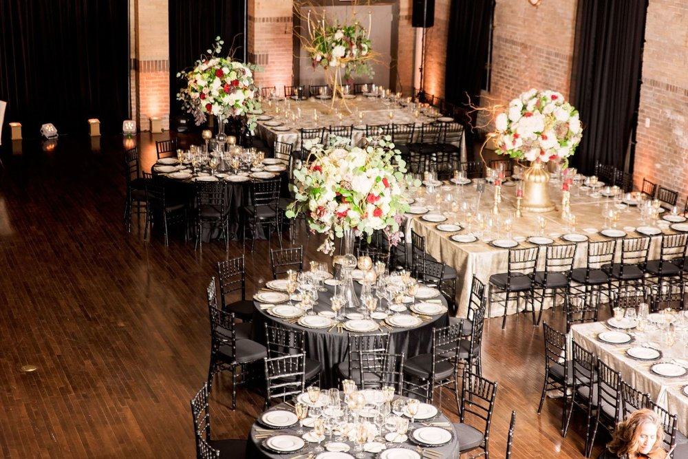 Black Southern Belle- Texas Wedding- Pharris Photography- Gina + Andre- Table Settings