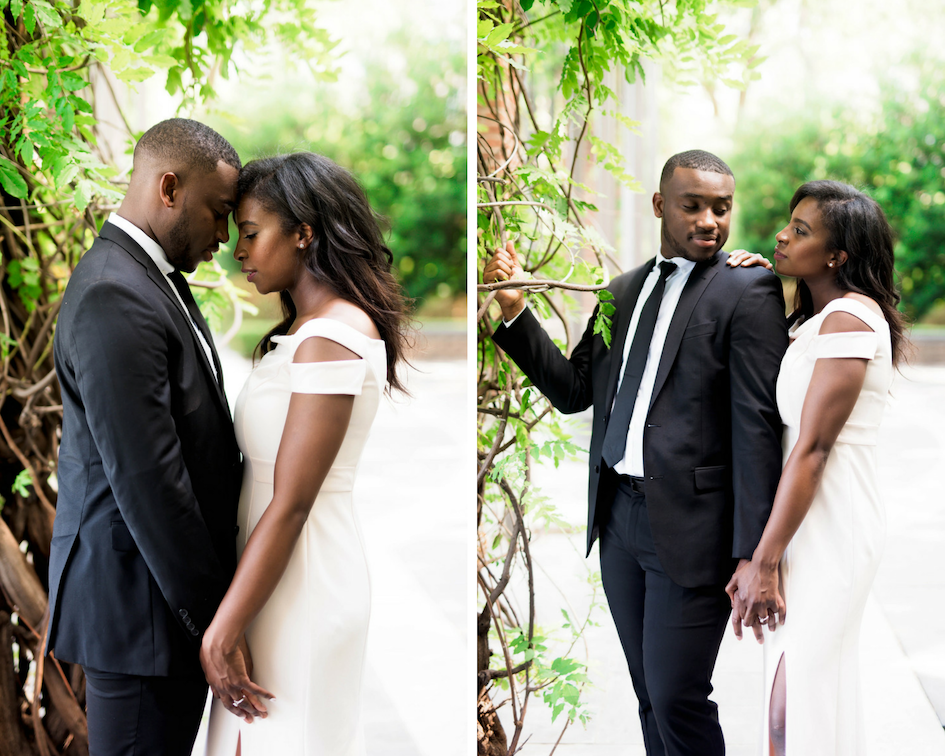 Dallas Engagement- Engagement Shoot- Pharris Photography- Kayla + Tego- African American Museum of Dallas- Texas