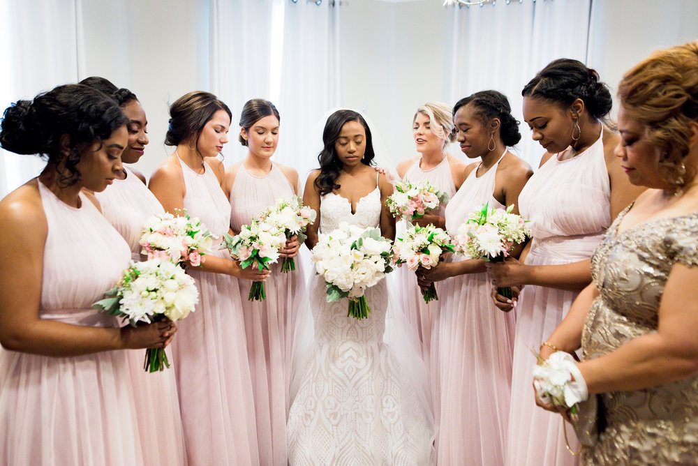 Texas Wedding- Pharris Photography- Megan + Evan- Bridal Party- Bridesmaids