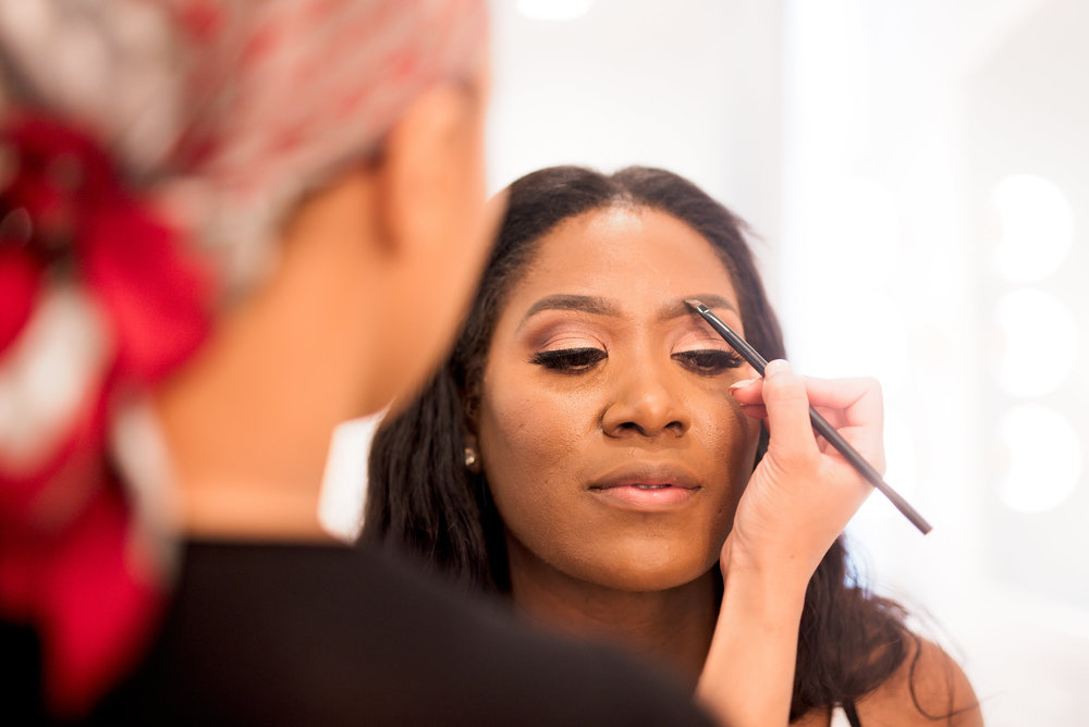 Houston Wedding- Pharris Photography- Kisha + Shaun- Getting Ready- Bride