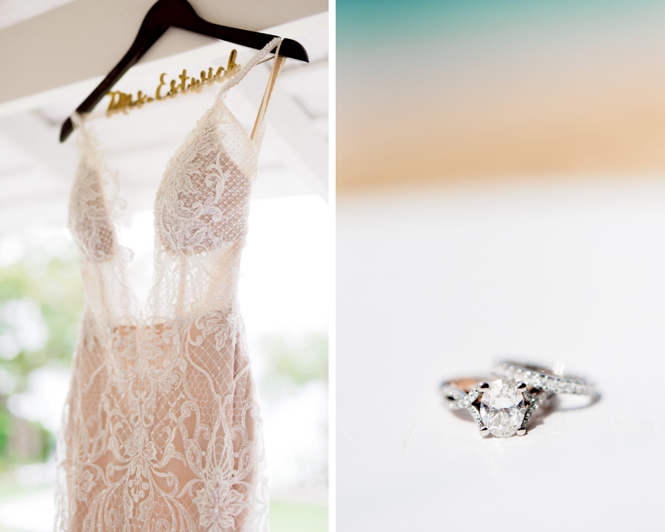 Jamaican Wedding- Pharris Photography- Sheena + Terry- Lace Wedding Dress- Wedding Rings- Wedding Details